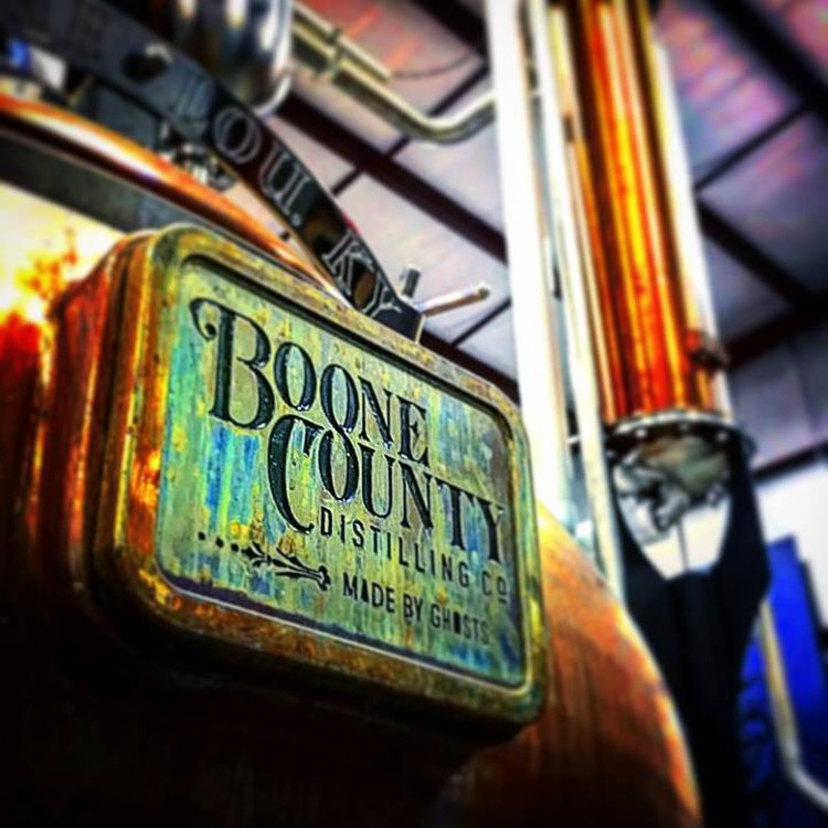 copper pot still at boone county distilling
