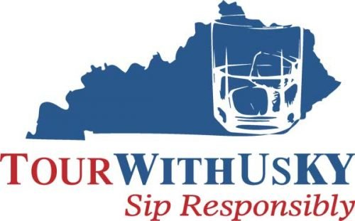 TourWithUsKy Logo with the phrase Sip Responsibly