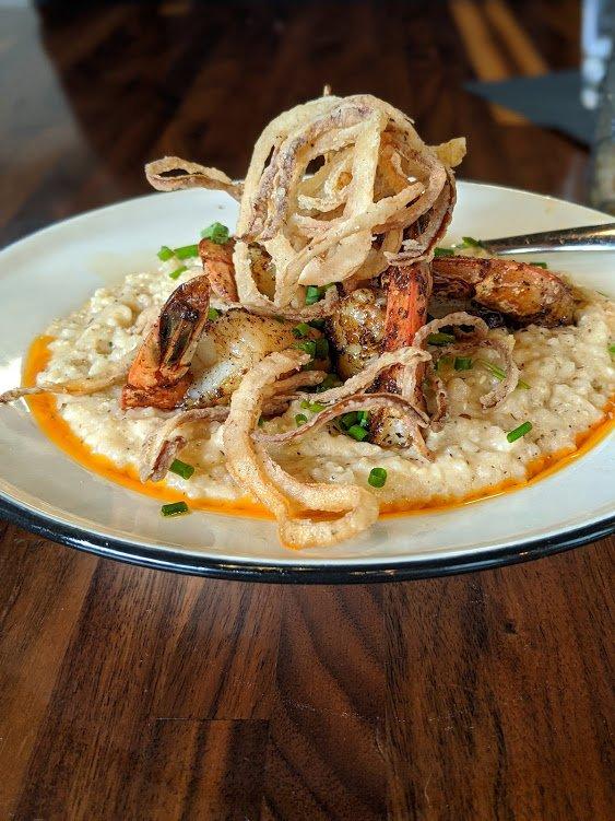 libbys shrimp grits closeup