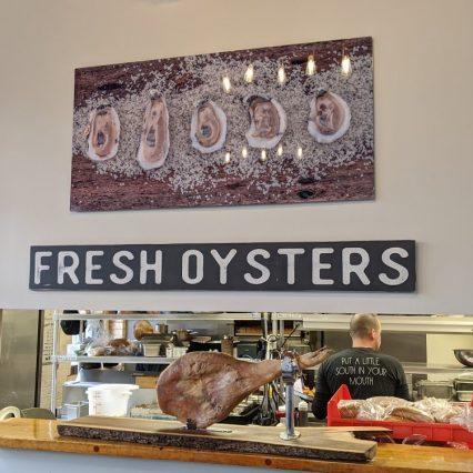 libbys oysters sign