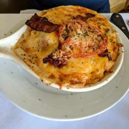tousey house hot brown